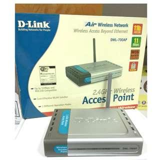 D-LINK友訊DWL-700AP 無線路由器