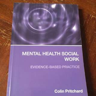 Mental Health Social Work - Evidence-based Practice