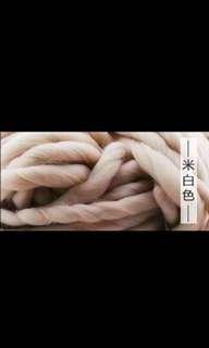 Oatmeal bulky iceland wool