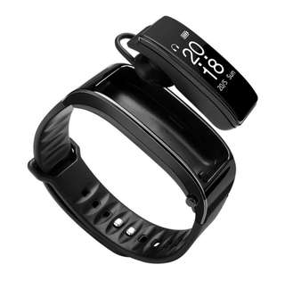 🚚 Smartband Fitness Touch Screen Bluetooth Earphone Wristband