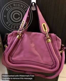 Rush Sale! New Chloe Paraty (Medium sized)