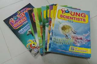 Young Scientists Level 3 Issue# 123-132 see promo