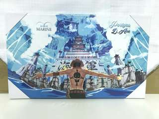🚚 海賊王壁畫含框