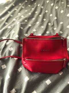givenchy bag red