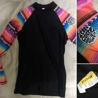 Ripcurl rash guard authentic
