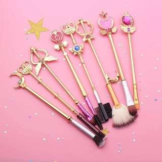 Sailor Moon Make up Brushes set