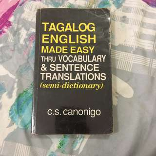 Tagalog English Made Easy