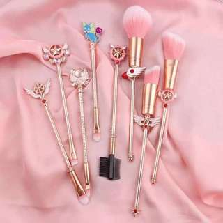 Card Captor Sakura Make Up Brushes Set