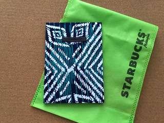 Starbucks Batik Notebook