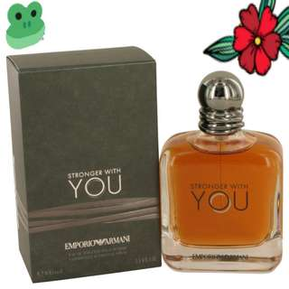 Stronger with YOU Emporio Armani EDT 100ml for men