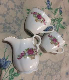 📌REPRICED! Set Ceramic Teacup ( Kitchen Decor)