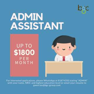 Admin Assistant | Macpherson (East) | 5 Days Office hours