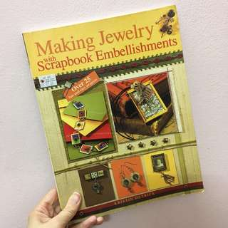 Making jewelry with scrapbook embellishment book #july70