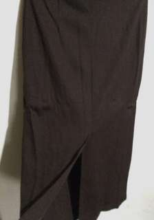 Plus Size MARKS & SPENCER Fitted Long Back Slit Skirt