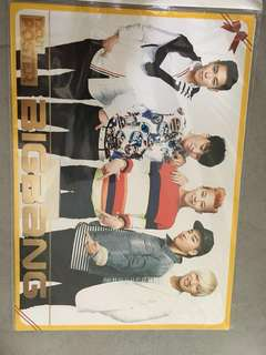 Bigbang poster (purchased from korea)