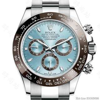 ROLEX 116506_ICE BLUE COSMOGRAPH DAYTONA OYSTER 40MM PLATINUM