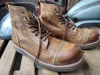 Sepati boots original leather JAMSEY GANK