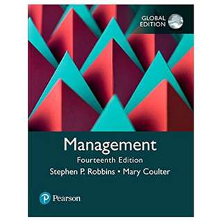 Management 14th Global Edition, Kindle Edition by Stephen P. Robbins (Author), Mary A. Coulter (Author)