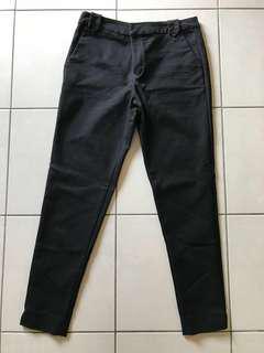 Seed black formal pants