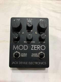 Jack Deville Electonics Mod Zero Pedal