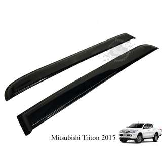 MITSUBISHI TRITON 2015 (MTS-140) DOOR VISOR (IMPORT) BLACK