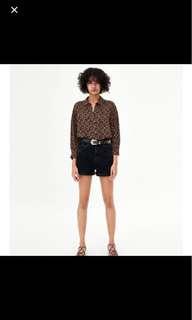 Authentic Zara Geometric Shirt