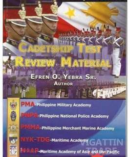 Cadetship Test Review Material