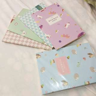 Brand New Pastel Notebooks