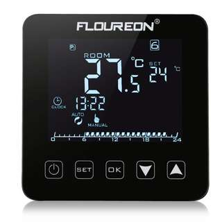 985. Floureon HY08WE Electric Temperature Heating Thermostat Touch Screen Controller
