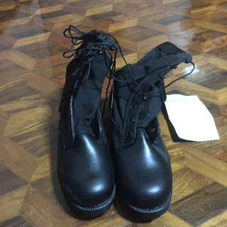 BNEW ORIGINAL GIBSON'S COMBAT BOOTS