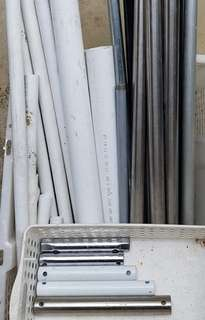 Stainless Steel, Metal and PVC Pipes
