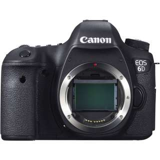 Canon EOS 6 D body ( 2018 Q 3 version)