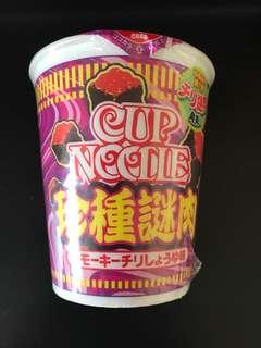 順豐到付 合味道 Cup Noodle 珍種謎肉