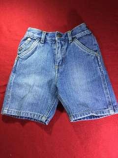 Kenneth Cole Reaction Denim Shorts