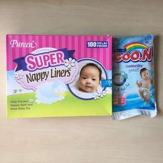 [BN] Pureen Super Nappy Liners