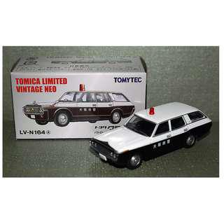 a4a13d8e9e22 Tomica Limited Vintage NEO LV-N164a Toyota Crown Van Osaka Prefectural  Police