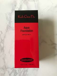 BN Koh Gen Do Aqua Foundation Shade 113