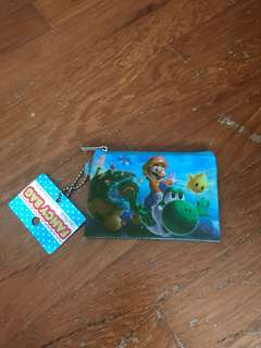 Mario wallet for kids