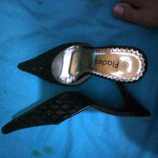 FLADEO heels hitam