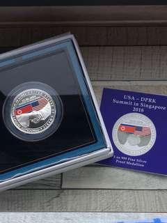 SingaporeMint Trump-Kim Summit Collectible Medallion