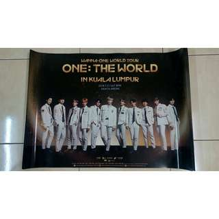 [WTS] WANNA ONE WORLD TOUR IN KL OFFICIAL POSTER