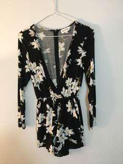 Luck & Trouble floral Playsuit 6