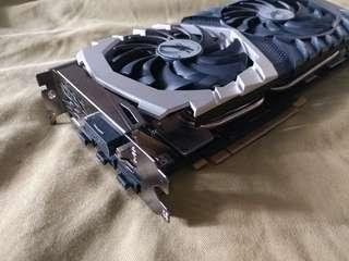 MSI GeForce GTX 1070 quicksilver