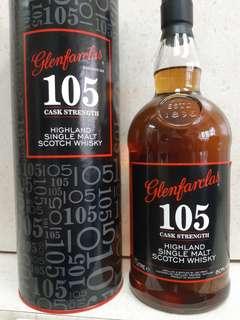 Glenfarclas 105 威士忌原酒,1公升