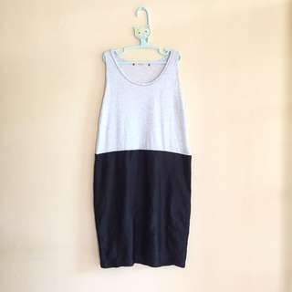 #maudecay Dress grey black