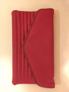 New Look Red Clutch
