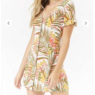 Forever 21 F21 woven dress not zara topshop