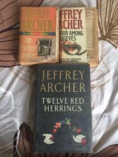 Jeffrey Archer books