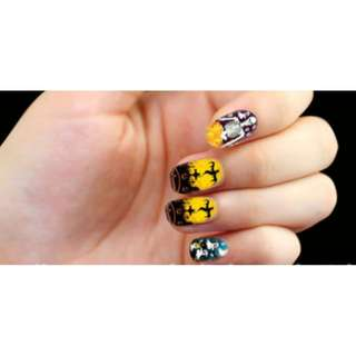 🚚 Glow In the Dark nail stickers Party Halloween (Pre-order)