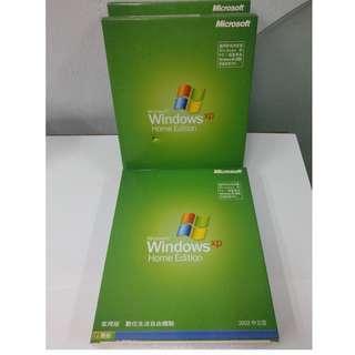 Microsoft Windows XP Home SP1  盒裝
